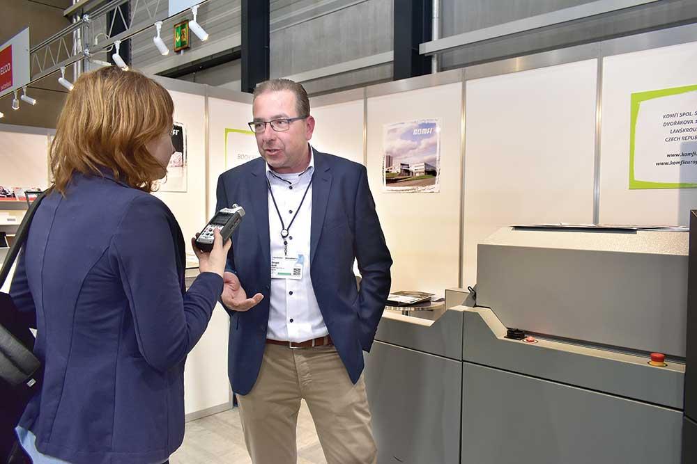 Gregor Hartl, Sales Manager Asia, KOMFI spol. s.r.o.