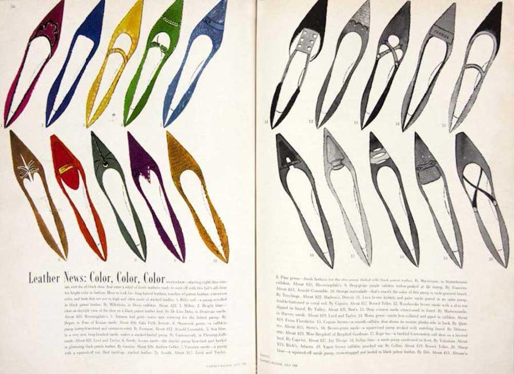 Andy Warholl - ilustrație pentru un magazin de modă