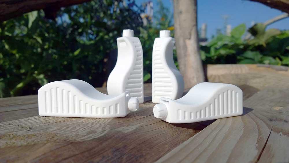 Bidon realizat de Markus Adam și Julien Gothling prin imprimare 3D