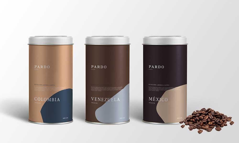 Design corporativ creat de Salvador Munca pentru brandul Pardo