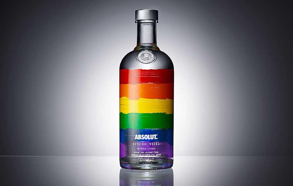 Grafică creată de Pond Design  pentru Absolut Vodka
