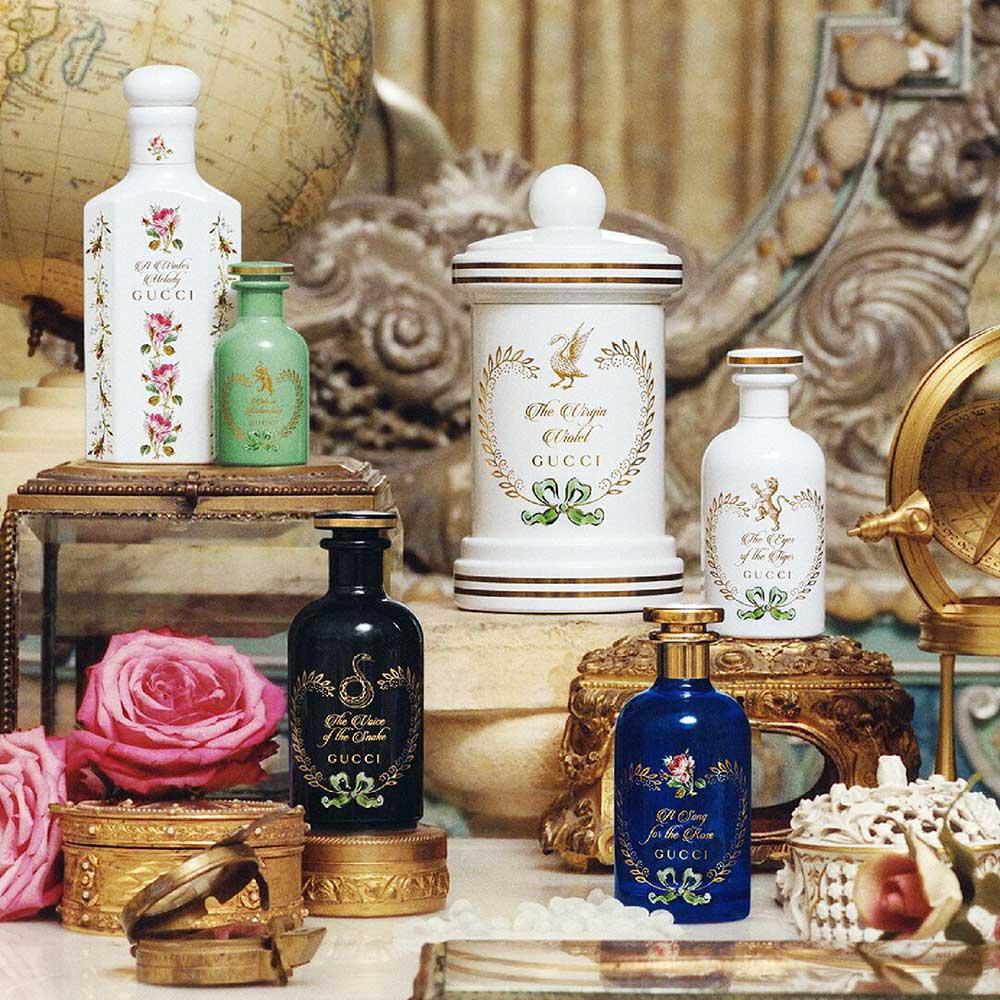 Linia de parfumuri The Alchemist's Garden, Gucci