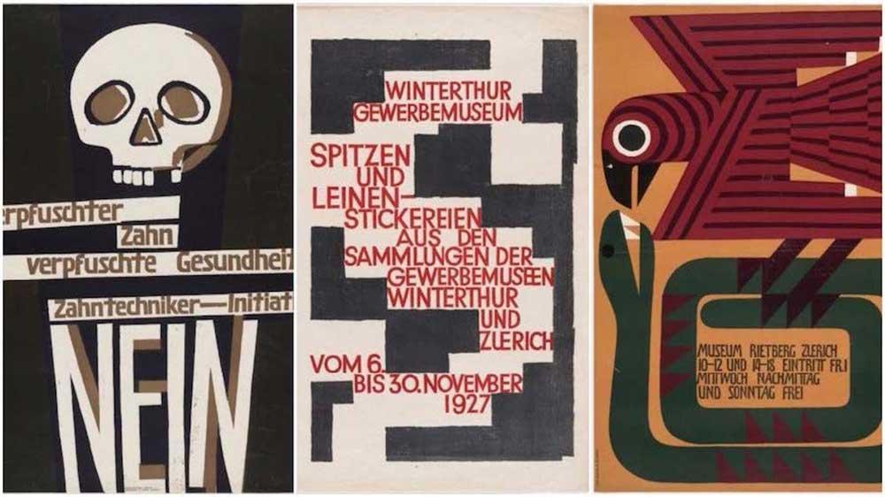 Poster creat de Ernst Keller
