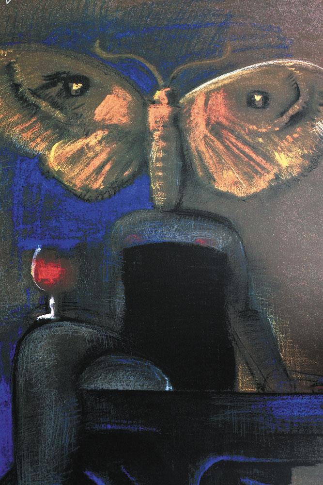 Poster vintage de André  François