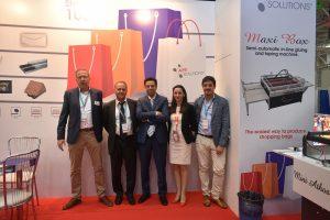 Gregor Hartl (KOMFI), Gabriel Vanghele (HENN GROUP), Ahmed Mouneib (APR Solutions SRL), și Cristiano Peroni (Peroni Ruggero)