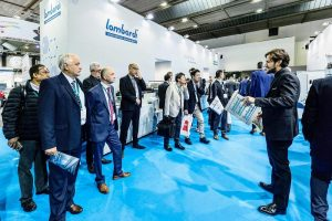 Standul Lombardi de la Labelexpo Europe 2019
