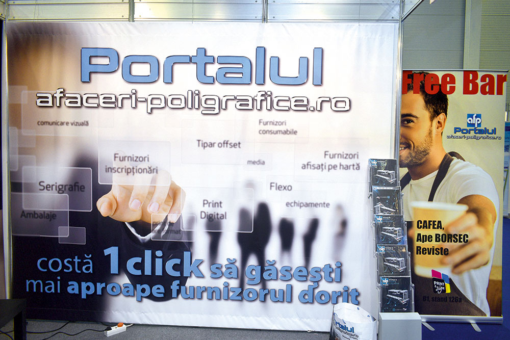 Standul Afaceri Poligrafice la Print&Sign 2019