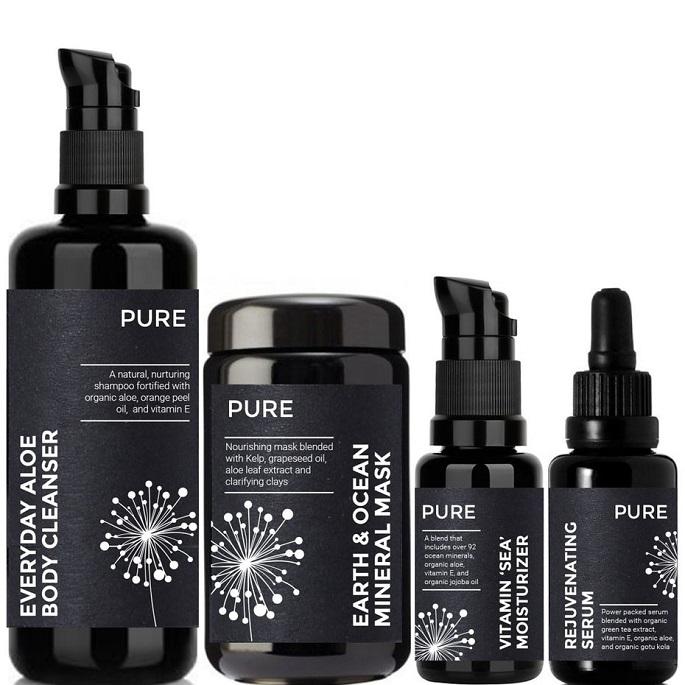 Etichetă realizată de ve_sta pentru Pure Cosmetics