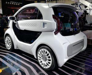 Autovehicul electric LSEV imprimat 3D