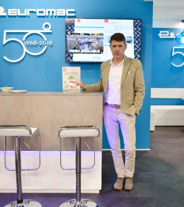 Hendrik van Rooijen, Director de Vânzări și Marketing, Euromac Costruzioni Meccaniche S.r.l.