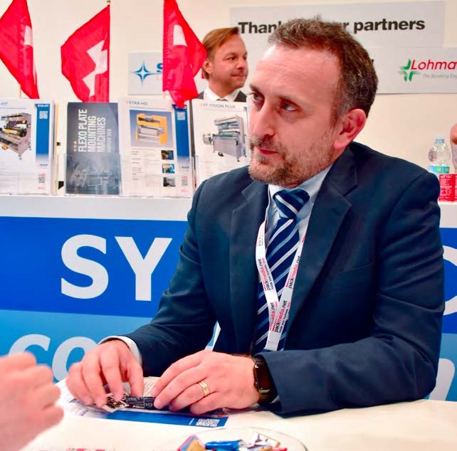 Massimo Caliari, Managing Director, SYS TEC Converting