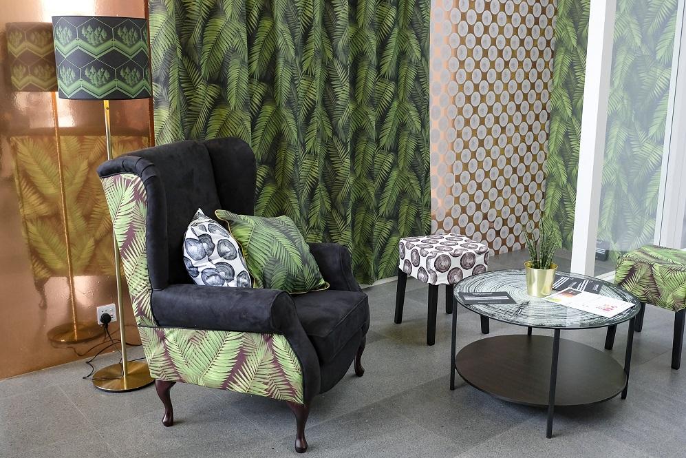 Design interior realizat prin sublimare