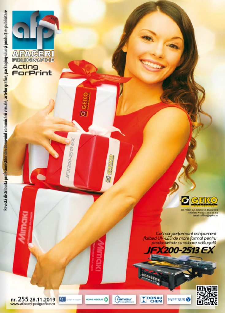 Coperta revista Afaceri Poligrafice nr. 255