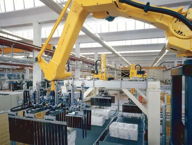 Robot utilizat în procesul de paletizare