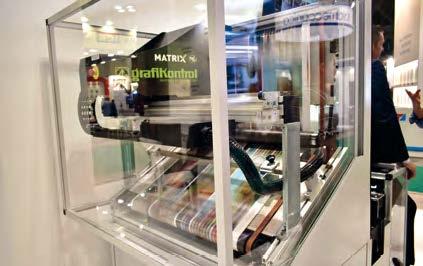 Sistemul MATRIX de inspecție a printului