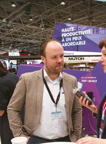 Karel Sannen, Manager Marketing, Roland DG Central Europe