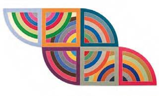 Harran II (1967), Frank Stella