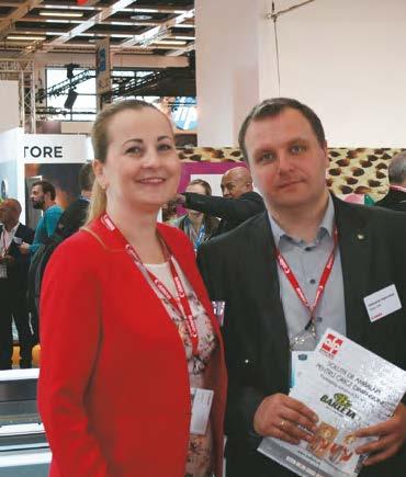 Lucia Pîrlog, B2B Team Leader, Canon CEE GmbH și Oleksandr Makovskyi, Business Developer, Wide Format, Canon CEE GmbH