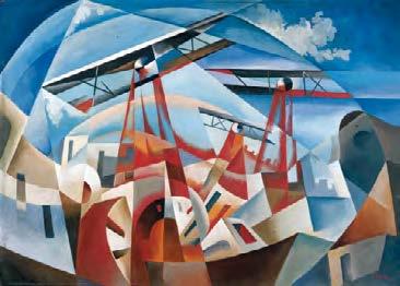 Bombardamento Aereo (1932), Tullio Crali