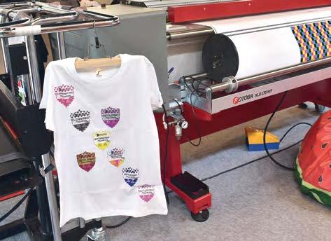 Produse imprimate cu folii de transfer de la Chemica pe presele Sefa