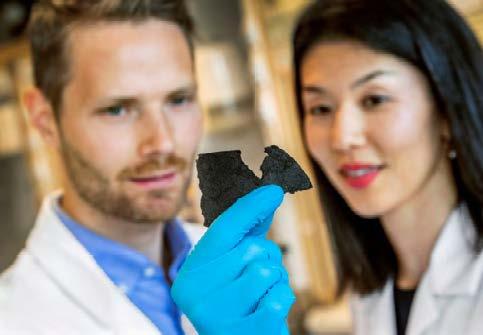 Materialul din care se realizează bateria din hârtie