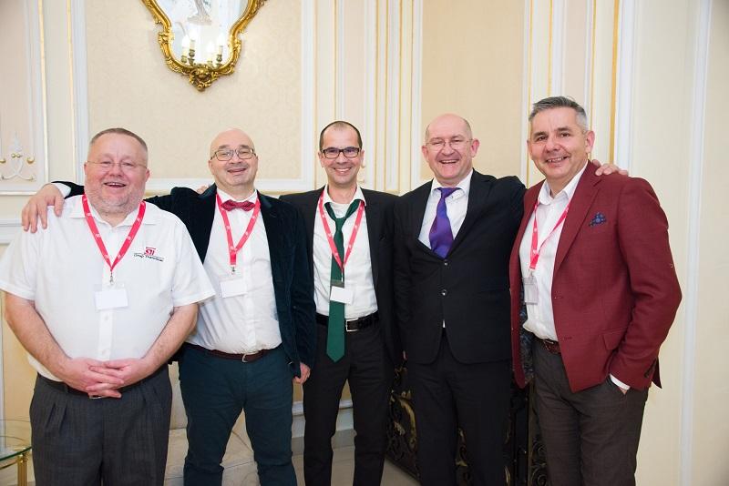 Bogdan Vasilescu, Dorin Pițigoi, Daniel Ichimescu, Mihai Marusciac și Remus Fărcaș, de la stânga la dreapta