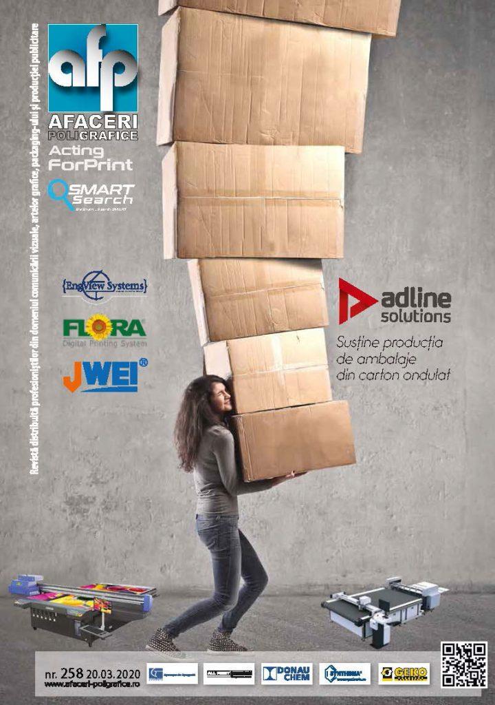 Coperta revista Afaceri Poligrafice 258
