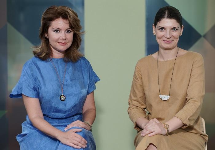 Linda Vasilescu și Adina Humă, co-fondatoare R-CREATE