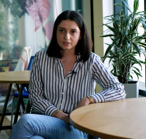 Mădălina Ilie, fondatoarea Manna Foods Solutions