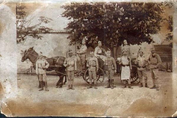 Fotografie de război realizată de Carol Pop de Szathmary