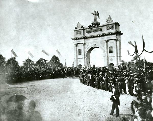 Intrarea armatei române în București (1878)