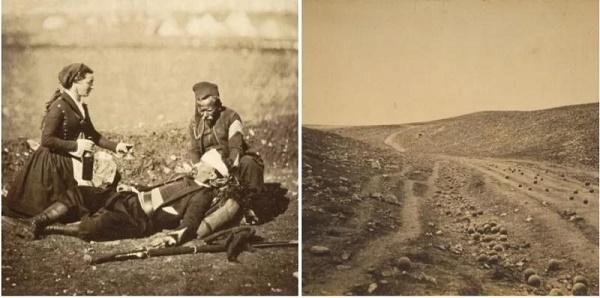 Primele fotografii din zone de război - Războiul Crimeii (1853-1856)
