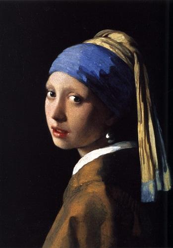 Fată cu cercel de perlă (1665) - Johannes Vermeer