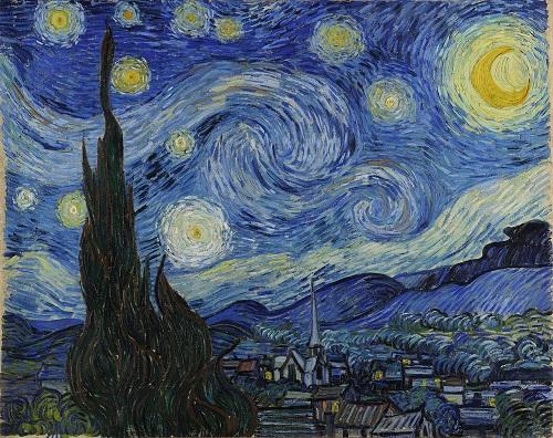 Noapte înstelată (1889) - Vincent Van Gogh