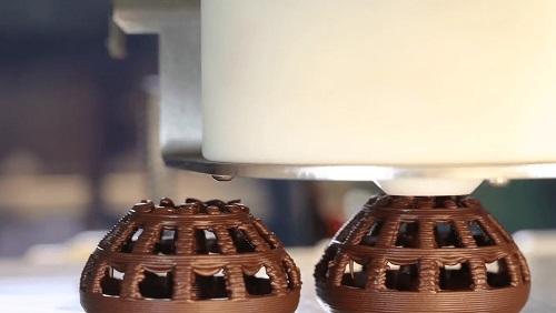 Ciocolată printată 3D cu CocoJet de la 3D Systems