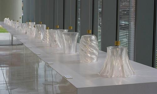 Obiecte din sticlă imprimate 3D