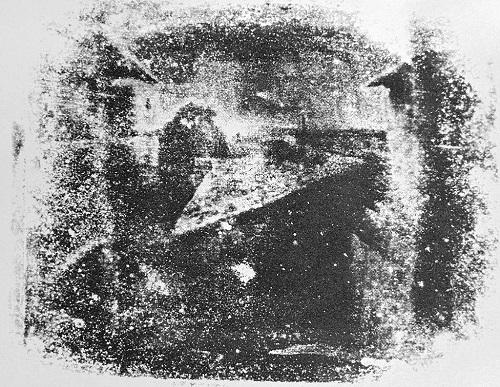 Vedere de la fereastra din Le Gras (1824 sau 1826) - Joseph Nicephore Niepce