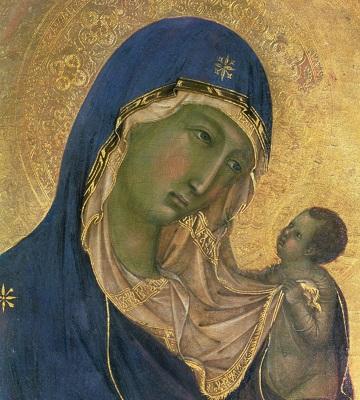 Madona cu Pruncul - Duccio di Buoninsegna