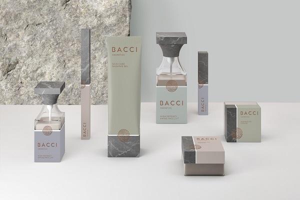 Design creat de Noname Branding pentru Bacci Cosmetics