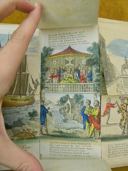 Harlequin Cherokee - broșură creată în 1765 de Robert Sayer
