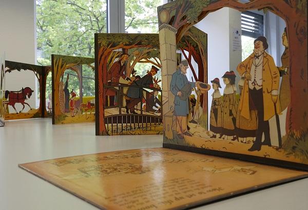 Parcul - carte creată în sec. XIX de Lothar Meggendorfer