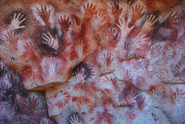 Pictură rupestră din peștera El Castillo, Spania