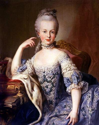 Portretul Arhiducesei Maria Josepha de Austria (1769), Martin Van Meytens
