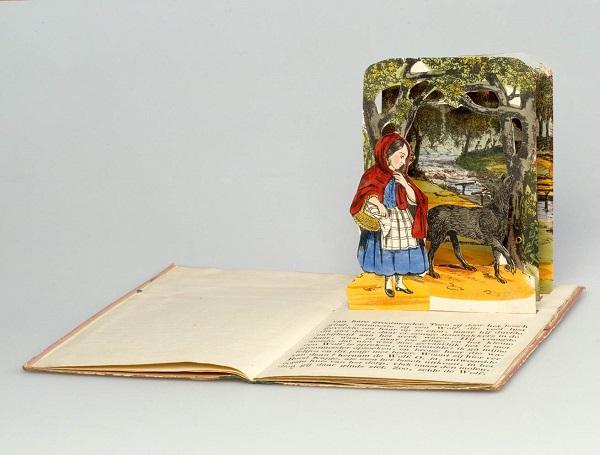 Scufița Roșie - carte pentru copii publicată în sec. XIX de editura Dean & Son