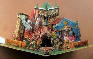 Turnirul de la castel - carte creată în anii '60 de Vojtech Kubasta