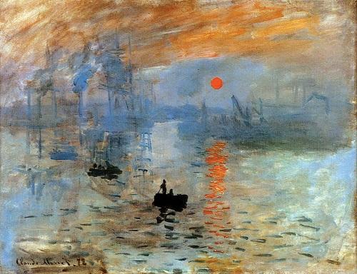 Impresie. Răsărit de soare (1872) - Claude Monet